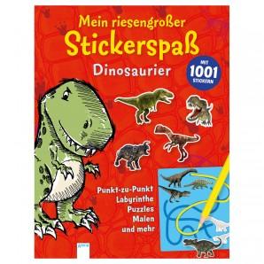 Stickerspass Dinosaurier 80 Seiten,