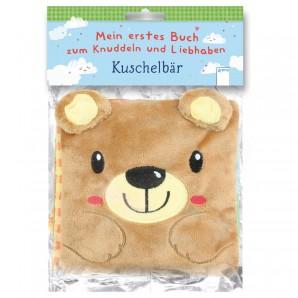 Knuddelbuch Kuschelbär 16x22 cm,