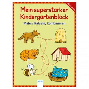 Superstarker Kindergartenblock,