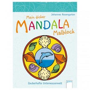 Mandala Unterwasserwelt 15x20 cm,
