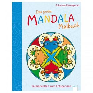 Mandala Malbuch Zauberwelten 21x28 cm,