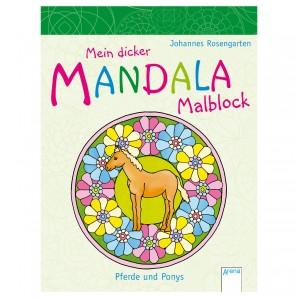 Mandala Pferde und Ponys 15x20 cm,