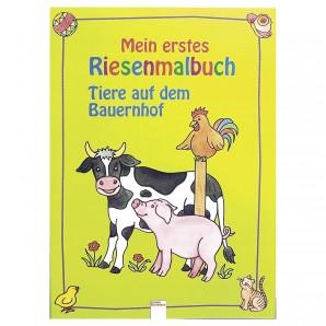 Riesenmalbuch Bauernhof 41x30 cm