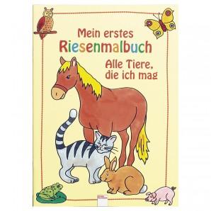Riesenmalbuch Alle Tiere die ich mag,