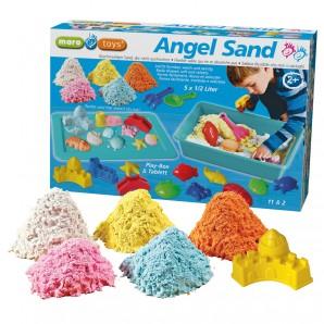 Angel Sand Big Pack Sand in 5 Farben à 0.5 l,