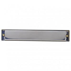 Mundharmonika, 17 cm Metall,