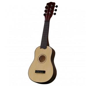 Gitarre, 55 cm Holz natur,