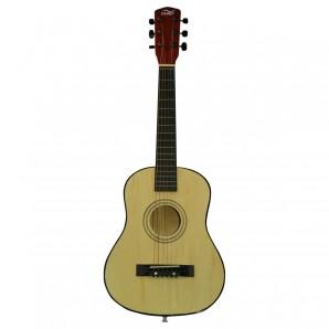 Gitarre, 75 cm Holz natur,