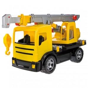 Kranwagen gelb 72x28x40 cm,