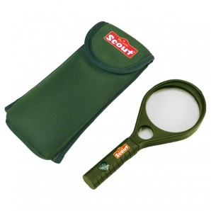 Lupe Scout mit Acryl-Linse,