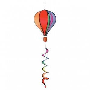 Windspiel Ballon Twist Rainbow,