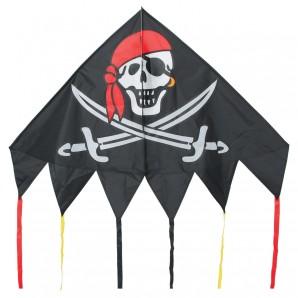 Drachen Delta Jolly Roger 137x98 cm,