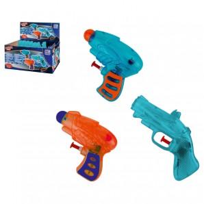 Wasserpistole WP 90 3-fach assortiert,