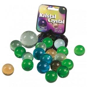 Murmeln Kristall 20x16 mm,