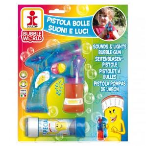 Seifenblasenpistole Licht & Sound,