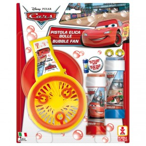 Seifenblasenventi Cars mit 2x60 ml Seifenlösung