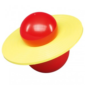 Saturnhopper rot/gelb ø 37 cm,
