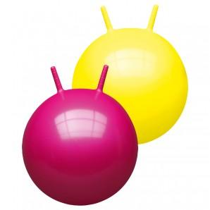 Hüpfball uni, ø 50 cm 2-fach ass.,