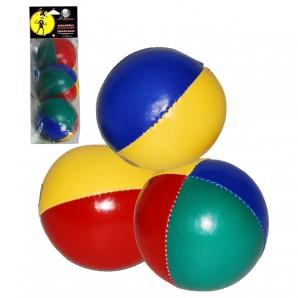 Jonglierball-Set Beach 3 Stück im Beutel,