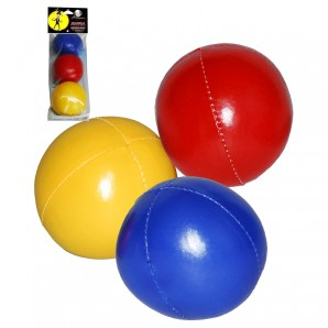 Jonglierball-Set uni 3 Stück im Beutel,