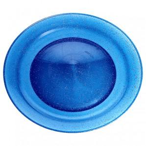 Jonglierteller Glitter blau ø 240 mm,