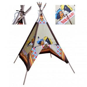 Zelt Indianer Tipi Yakari 127x127x180 cm,