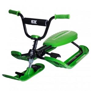 Snowracer SX Pro, grün 120x56x34 cm,