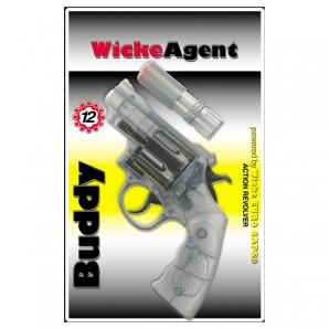 Pistole Buddy 12-Schuss 18 cm,