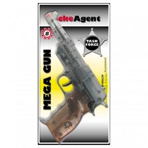Pistole Mega Gun 8-Schuss 27 cm,