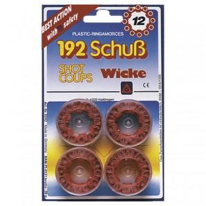 Munition 12-Schuss, 4 Dosen à 48 Schuss,