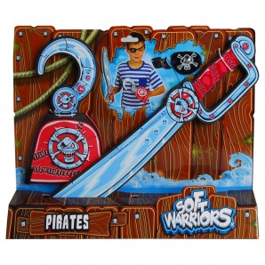 Piraten Set Soft Warriors 3-tlg.,