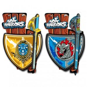 Ritter Set Soft Warriors 1 Schild + 1 Schwert