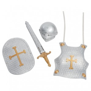 Ritter Set, 4-teilig Schwert,