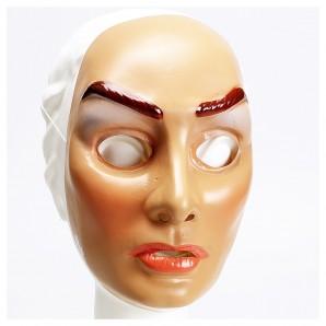 Maske Junge Frau, Plastik