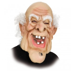Maske Alter Riesenmann
