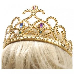 Diadem Prinzessin gold
