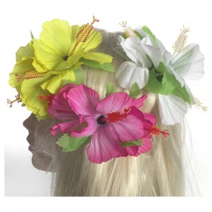 Haarspange Blume sortiert
