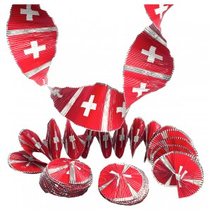 Rotorspirale CH-Kreuz, Folie 7x60 cm,