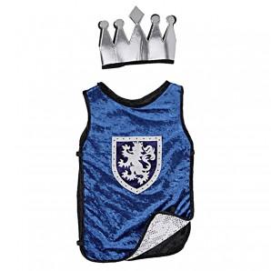 König/Ritter blau 6-8 Jahre 3-teilig,