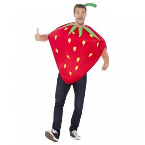 Kostüm Erdbeere, one size 2-teilig,