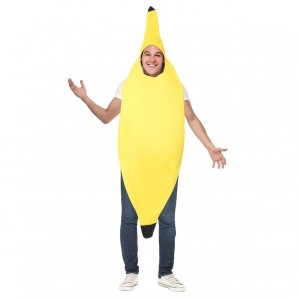 Kostüm Banane, one size 1-teilig,