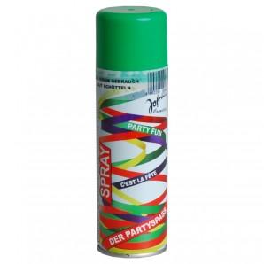 Luftschlangenspray, grün